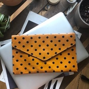 UO Leather Clutch